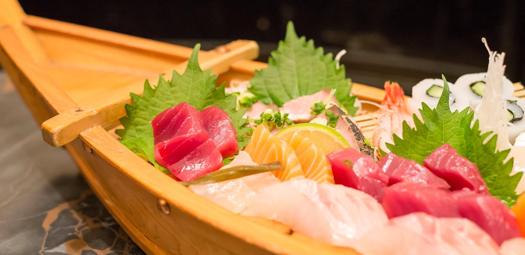 Sashimi chez Kifune